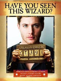 montagem um cartaz sua versão mago prisão