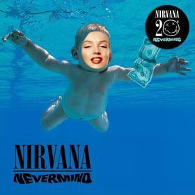 fotomontagem com capa do cd do nirvana editar
