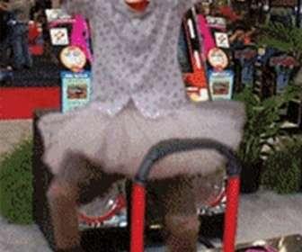 animação máquina de dança personalizada com sua foto. Muito engraçado.
