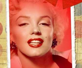 Cartão de amor com sua foto, tom vermelho e dois corações.