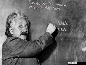 Fotomontagem Slate Einstein