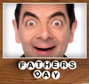 quadro imagem especial comemorar dia pais com uma foto