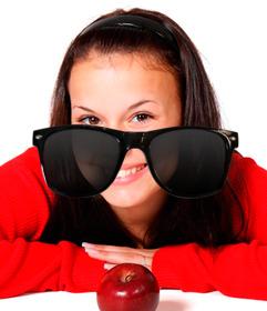etiqueta oculos sol