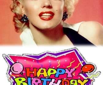 Crie o seu próprio cartão de aniversário personalizado com uma foto! Use-o para desejar um cartão de feliz aniversário ou como um lembrete.