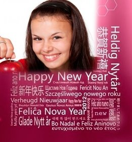 cumprimentos ano novo em diferentes linguas colocar sua foto