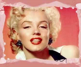 Modelo de moldura, cor de rosa com corações. Envie uma imagem e aplicar a decoração de sua foto. Você pode usar a imagem resultante, foto do seu perfil de rede social.