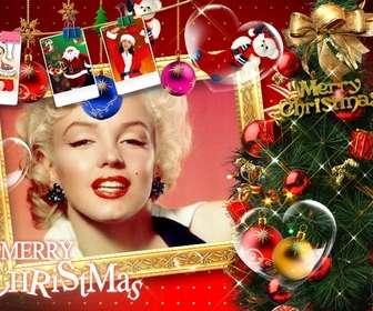 cartão natal com belas decoracões natal presentes fotos do papai noel e presentes pare cartões natal com sua foto