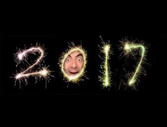 Efeito para colocar sua foto no zero do ano 2018 de fogos de artifício