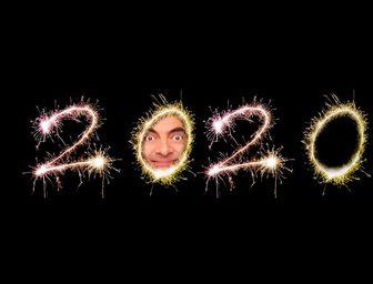 Efeito para colocar sua foto no zero do ano de 2019 de fogos de artifício