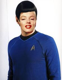 torne-se em spock star trek com