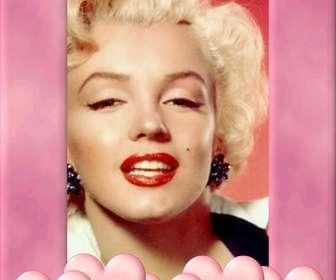 moldura foto com borda rosa decorado com coracões subir uma imagem cortar e colocar essa borda uma decoracão inspira amor
