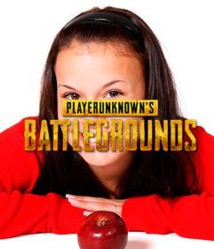 coloque o logotipo do time batalha player unknown na sua foto