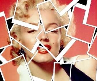 Com este efeito de foto, sua imagem aparecerá como uma composição feita com vários tipos de colagem de fotografias tipo Polaroid.