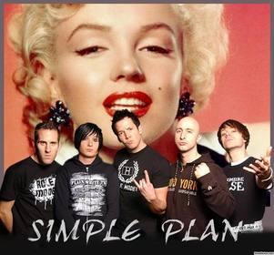 Sua foto com os membros da banda Simple Plan com este efeito