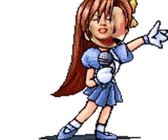 Animação Manga personalizado com sua própria imagem, ideal para avatares animados.