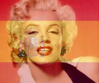 Fotomontagem para colocar a bandeira da Espanha em sua foto que você pode usar na sua foto do perfil.