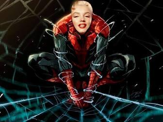 Efeito da foto do Spiderman a ver com o seu rosto