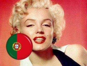 botão com bandeira portugal adicionar em suas fotos com efeito efeito