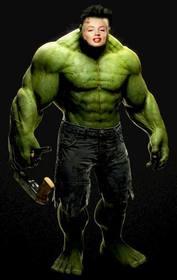 Incredible Hulk fotomontagem para colocar seu rosto