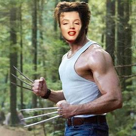 Torne-se em Wolverine do filme X-Men com esta montagem