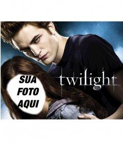 Fotomontagem para aparecer no cartaz do Crepúsculo filme