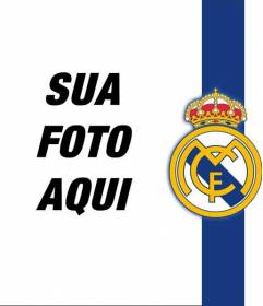 Coloque o escudo e as cores do Real Madrid com a sua