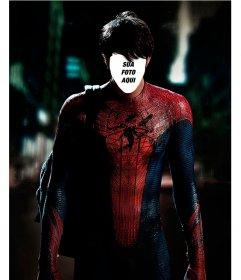Fotomontagem para colocar seu rosto no corpo de Spiderman