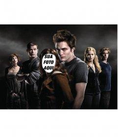 Fotomontagem para colocar um rosto a um Robert Pattinson, conhecido pela série de filmes Twilight.