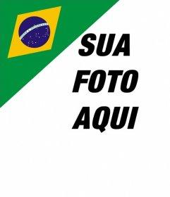 Adicionar em suas fotos a bandeira brasileira no efeito