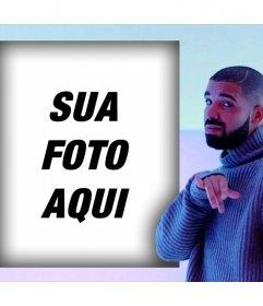 Efeito para sua foto com Drake em sua Hotline vídeo da música que bling