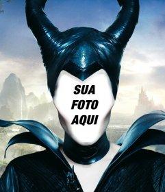 Ponha seu rosto nesta fotomontagem e tornar-se em Maleficent