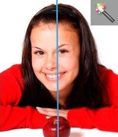 Você pode aplicar o filtro Gaussian Blur à imagem, dando um borrão na sua foto. Basta fazer o upload de uma imagem e pode ser editado como um aplicativo on-line sem baixar um editor de gráficos