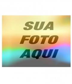 Efeito de luzes coloridas para colocar em suas fotos.