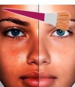 Efeito de maquiagem virtual online para sua foto que vai deixar muito mais bonita