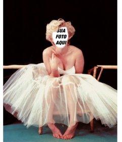 Torne-se em Marilyn Monroe com esta fotomontagem para adicionar o seu rosto
