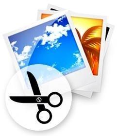 Ferramenta para cortar fotos e imagens online.