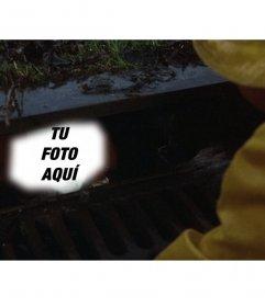 Photomontage Palhaço do filme Sai da cloaqua