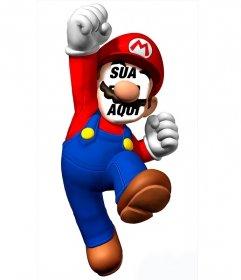 Fotomontagem Para Colocar Seu Rosto Em Super Mario E Se