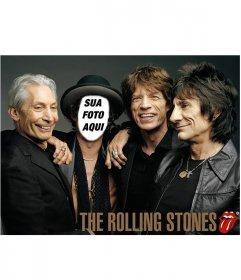 Fotomontagem dos Rolling Stones para personificar o seu