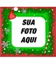 Quadro de fotos do Papai Noel