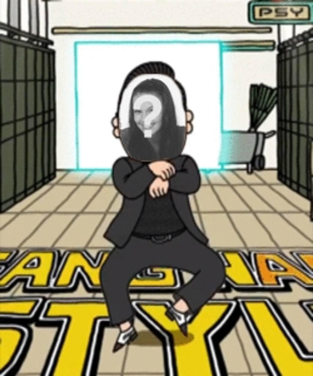 Crie sua própria animação de Gagnam Style de Psy  com sua própria foto e surpreenda seus amigos