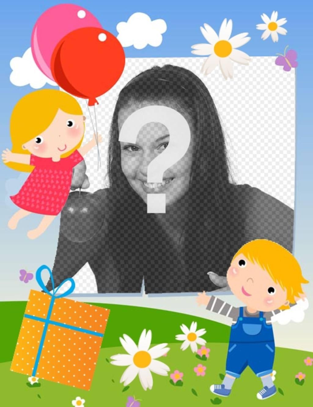 Cartão customizável para celebrações do dia do dia das mães e pais
