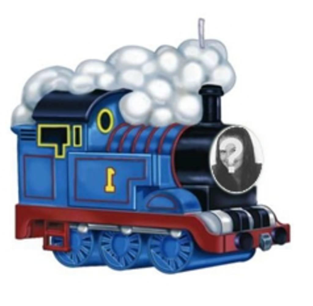 Animação do Thomas trem para colocar sua foto