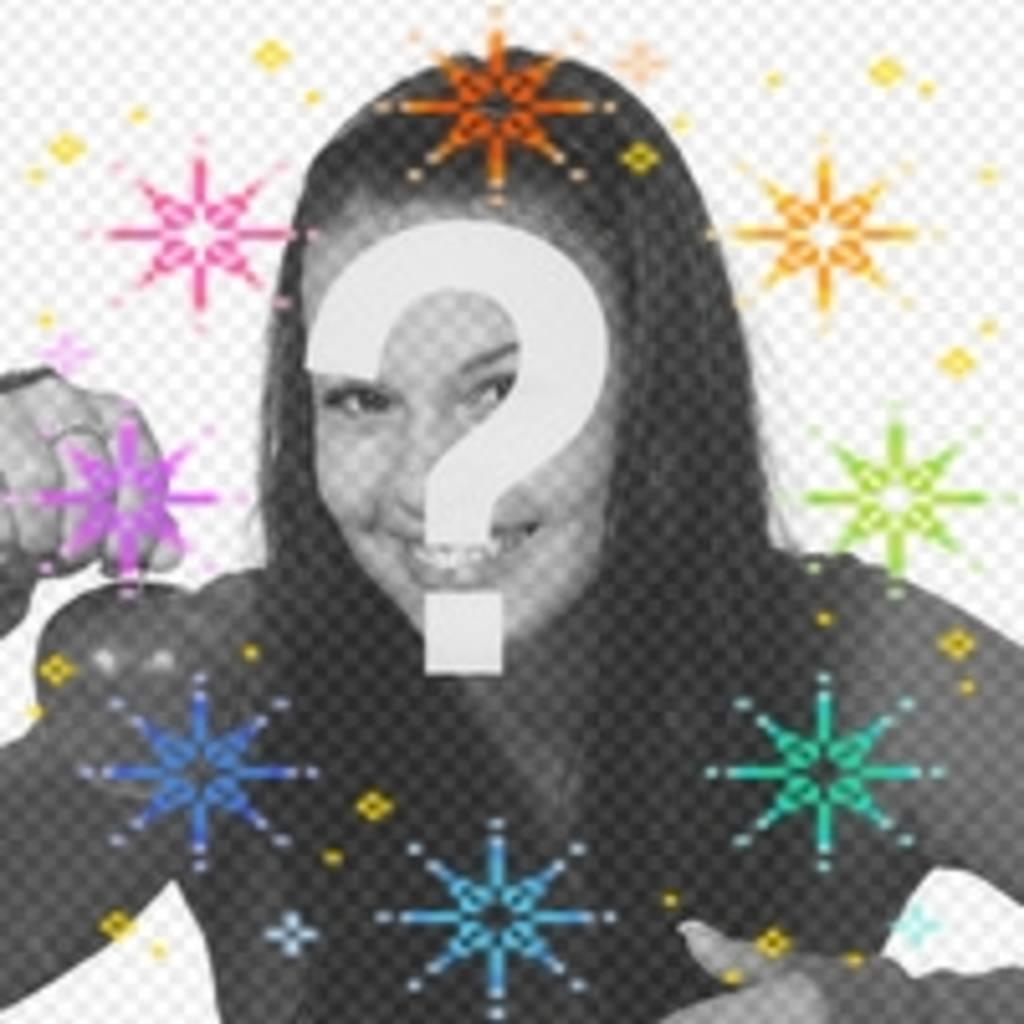 Faça o seu avatar mais engraçada com esta animação de estrelas coloridas