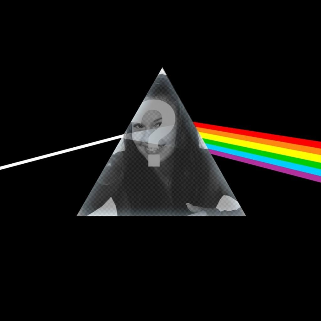 Fotomontagem com o Pink Floyd CD