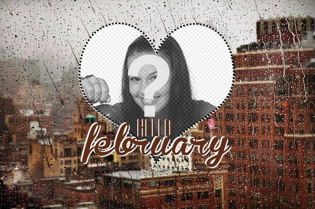 Wallpaper do mês de fevereiro, com a sua foto