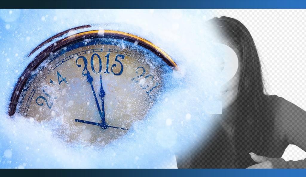 Especial de Ano Novo 2015 fotomontagem