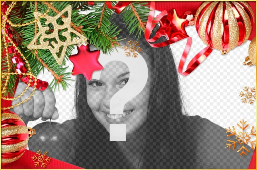Framework para dar um toque de Natal para suas fotos para