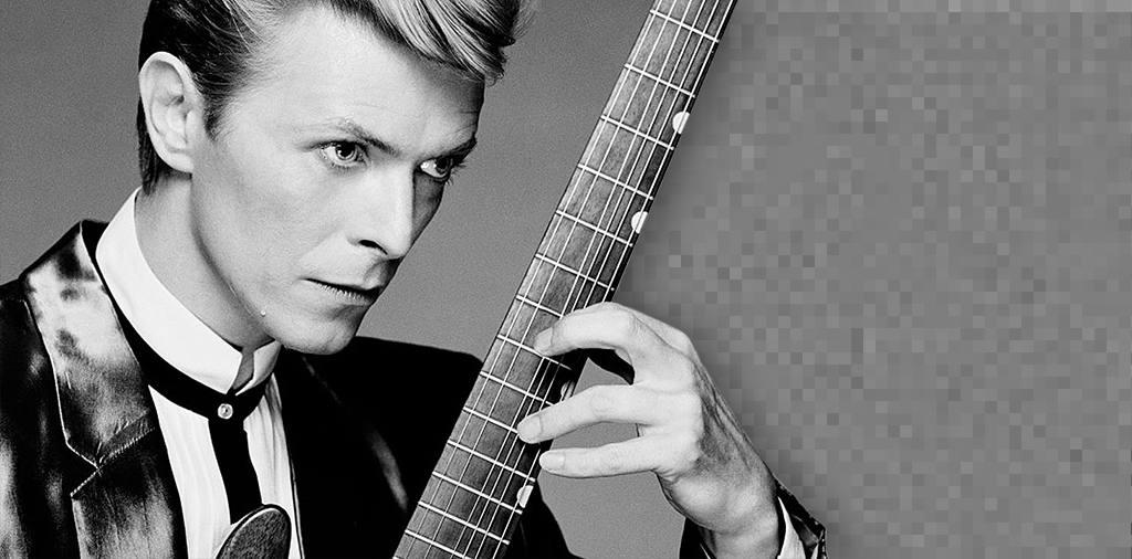 Montagem para sua foto de capa com o cantor David Bowie e