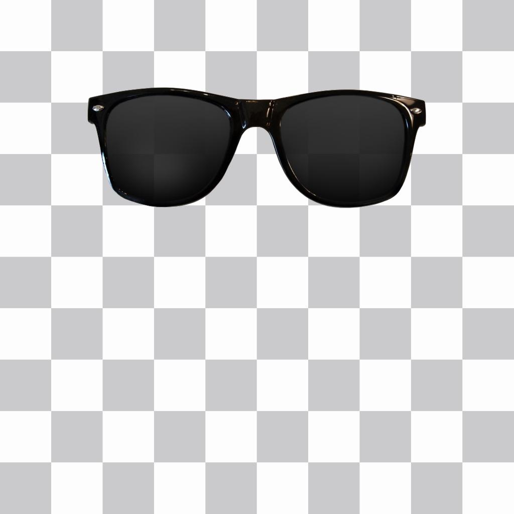 Etiqueta de óculos de sol